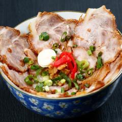 花盛り丼(ミニちゃーしゅう丼)