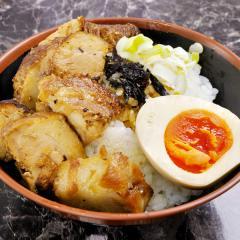 炙りちゃーしゅー味玉丼
