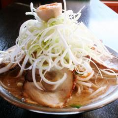 ネギ味噌チャーシュー野菜炒麺