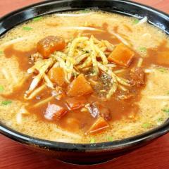 【限定麺】みそカレーラーメン